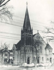 Old Holy Rosary Church, Sherbrook and Bannatyne, 1929 (Courtesy of Holy Rosary Church)  -  for Winnipeg Free Press Italy FYI 2012
